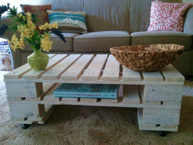 Make and Sell Furniture Made From Wooden Pallets - Small Business