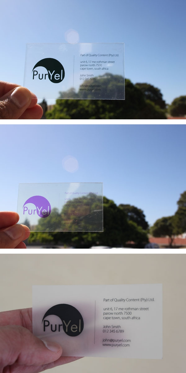 Print and sell transparent translucent and frosted business cards print and sell transparent translucent and frosted business cards reheart Gallery