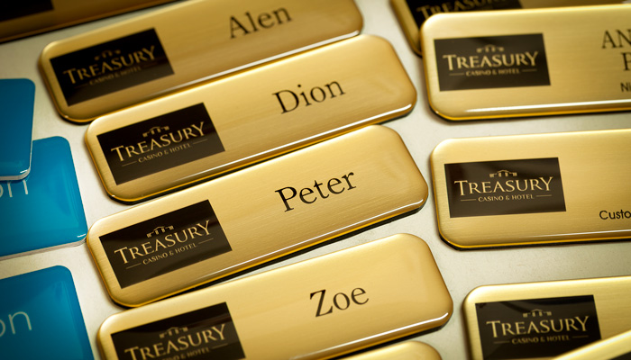 start a custom name badge business small business ideas