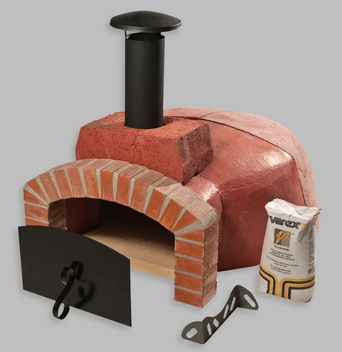 Wood Pizza Oven Kitchen