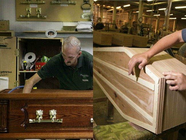 Start Your Own Coffin Manufacturing Business - Small