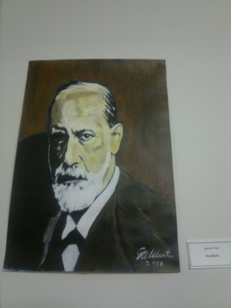 Sigmund Freud by Paul Martin