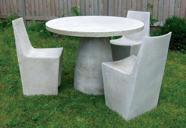 Make Sell Concrete Furniture Small Business Ideas