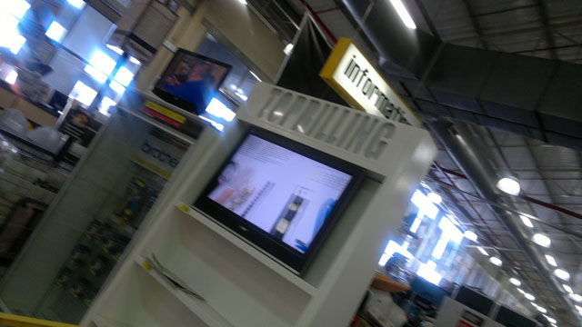 Digital signage in store