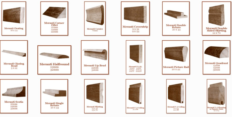 Meranti Mouldings