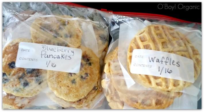 Frozen pancakes & waffles - O'Boy! Organic